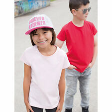 SF Mini SM101 Kids Childrens Stretch Tee T-Shirt Modern Fitted Short Sleeves Top
