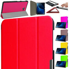 Samsung Galaxy Tab A 10.1 Inch (2016) Slim Smart Folding Folio Case Cover Holder