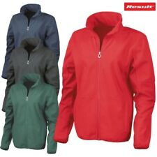 RESULT Osaka Donna PETTINATI Pile Giacca in softshell INVERNALE IMPERMEABILE