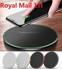 For Apple iPhone X 8 Plus QI Wireless Charger Charging Dock Pad Mat Charge Plate