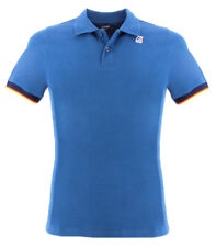 Polo Vincent Contrast Kway colore blu avio per uomo Kway VINCENT CONTRASTQ09 BLU