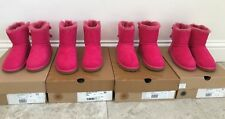 Girls Genuine UGG Australia Boots - Mini Bailey Bow Pink BNIB