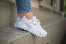 Nike Air Huarache Triple White UK 11 & 10