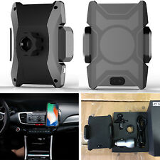 Automatic Qi Wireless Car Charger Dashboard Air Vent Holder Phone Charging Mount