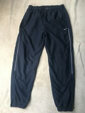 Mens Nike, classic Tracksuit bottoms, Navy Blue, size L