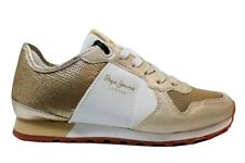 Pepe Jeans London PLS30625 Oro Sneakers Donna Scarpa Casual