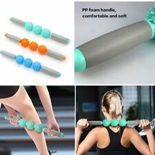 Yoga Ball Trigger-Point Muscle Therapy Stick Roller Massage Rolling  3  Balls GW