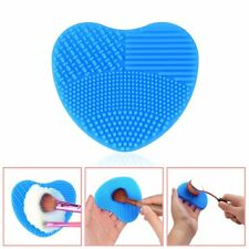 Makeup Brush Cleaner Glove Heart Scrubber Cosmetic Cleaning Silicone Foundation