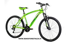 "BICI 26"" UOMO MTB GFM MERCURY RUOTA 26"" 21 VEL COLLECTION 2018 VERDE"
