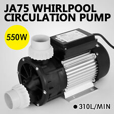 LX JA75 0.70HP Whirlpool Circulation Pump Hot Tub Bath 3450rpm 550W Powerful Spa