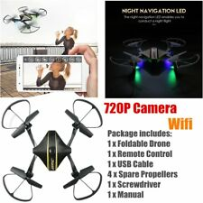 JJRC H44WH 720P Camera Quadcopter APP WIFI FPV Foldable Selfie Drone Helicopter~