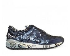 Premiata Ann 2944 sneaker woman with sequins blue (24PD)