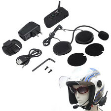 V6 1200m Bluetooth Intercom for Motorcycle Helmet Headset Interphone&WS