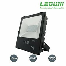 Foco Proyector LED 100W Exterior Chips OSRAM IP65 Impermeable Luz  Blanca  6000K