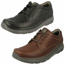 Mens Clarks Casual Lace Up Shoes Charton Vibe G Width Fitting