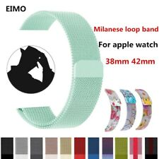 Milanese loop For  watch band strap series 3/2/1  band 42mm 38mm Stainless St...