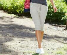 New Jockey Womens Capri Pants in Light Grey
