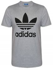 Genuine Adidas Originals Mens Trefoil Essentials Crew Neck Short Sleeve T-Shirt