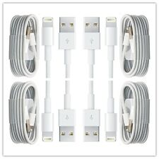 3-PACK USB Data Charging  Cables For Apple iPhone 5 S 6 7 8 X Plus