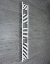 350mm Wide Towel Rail Rad Central Heating White Bathroom Radiator 1800mm High **