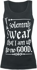 Harry Potter Solemnly Swear Top donna nero