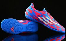 Adidas F5 MESSI M17663 Pink Solar Blue Indoor Football scarpa calcetto