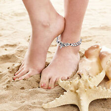 32cm Beach Anklets Two Layer Starfish Beads Anklet Barefoot Chain for Women