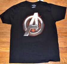 Marvel Comics Avengers Age of Ultron logo stile T-shirt per adulti uomo