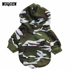Puppy Pet Dog Clothes winter Camouflage Sweatshirts dog clothes for