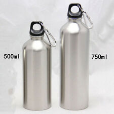 1Pc Water Bottle Kettle Stainless Steel Sports Light Strong Durable Leak-proof
