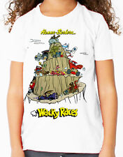 Hanna Barbera Wacky Races Classic Kids TV Children's T Shirt