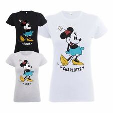 Official Disney Minnie Mouse Classic Kick Women's Personalised T-Shirt