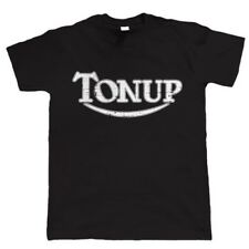 Ton Up Cafe Racer Biker T Shirt, Classic Motorcycle Gift for Him Dad Birthday