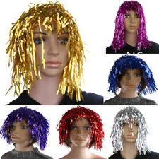 Fancy Dress Willy Tinsel Wig Hen Party