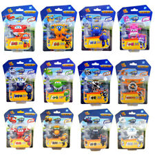 New Super Wings Mini Airplane ABS Robot toys Transformation Action Figures
