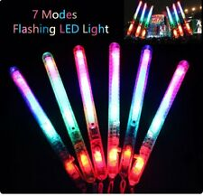 5 50X Flashing Glow Sticks LED Light Up Blinking Wands Concert Party Prom Favors