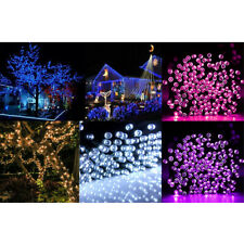 200 LED String Solar Powered Fairy Lights Garden Christmas Party Outdoor