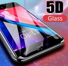 For Apple iphone complete coverage 5D glass screen protector edge to edge