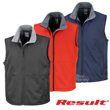 RISULTATO Softshell Gilet Active Outdoor WORKWEAR GILET IN PILE UNISEX S-3XL