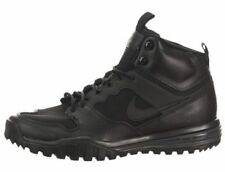 NIKE DUAL FUSION HILLS MID LEATHER HIKING BOOTS * BLACK * UK 8, 8.5, 9, 10