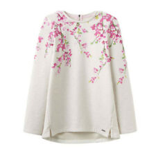 Joules Clemence Crew Neck Sweat Cream Blossom