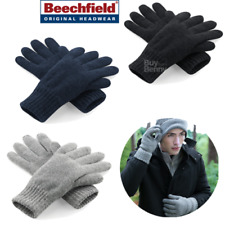 Beechfield Guantes Thinsulate Forro Muy Cálido Esquí Nieve Suave Unisex Tallas