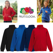 Fruit of the Loom per bambini Giacca con Zip Sweat COLLETTO TASCHE