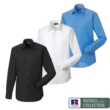 Russell Collection a Medida Camisa de manga larga elegante formal Fácil Cuidado
