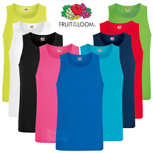 FRUIT OF THE LOOM uomo canotta Performance Wicking PALESTRA Atletico Top sport