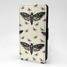 Polilla Estampado Mariposa Diseño Funda libro para Apple iPhone - p977