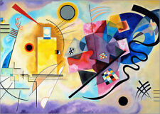Póster, lienzo o cuadro en metacrilato Yellow, red and blue - Wassily Kandinsky