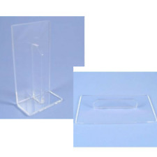 CLEAR Non-stick Acrylic cake smoother, cake decorating, fondant edge smoother