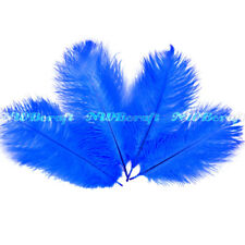 Royal Blue Ostrich Feather Fluffy Wedding Costume Party Centerpiece Craft Deco