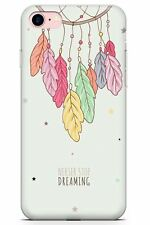 Never Stop Dreaming Slim Phone Case for iPhone | Inspirational Dreamcatcher Sacr